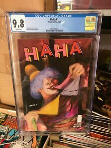 HAHA  #1 - CGC 9.8 - IMAGE COMICS