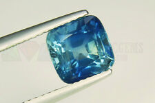 Ceylon Blue Sapphire Cushion 8x8mm VS 2.95ct Loose Natural Gemstone Sri Lanka