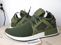 DS Adidas NMD XR1 Primeknit Boost Olive Cargo Nomad 6 7 11.5 12  S32217 Green PK