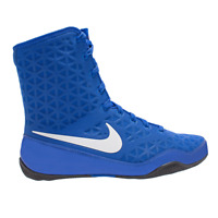 Nike KO Boxing Boots Shoes Mens Womens Box Trainers Blue