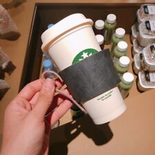 New Starbucks China 2018 Storefront Heritage Cup Bottle Brown Or Grey Sleeve 1pc