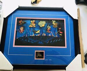 Disney Gallery Fantasia Framed Set 9 Pin Limited