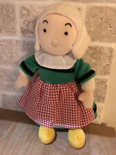 becassine doll Plush 1999 Ajena Catalog 12 Inches French Famous Doll Stuffed
