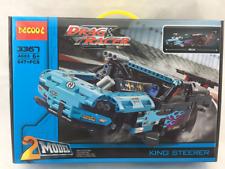 Construct Drag Racer 2 in1 Model Racing Car Truck 3367 Building Brick Blocks 647