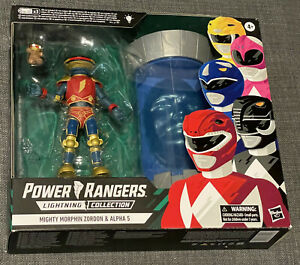 Power Rangers Zordon & Alpha 5 | Lightning Collection | Mighty Morphin | NEU