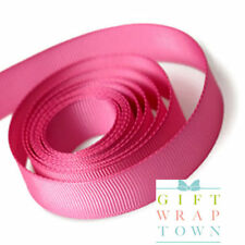 Shocking Pink Grossgrain 15mm Ribbon - price per metre - Free Post!