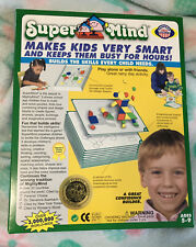 SuperMind ~ Makes Kids Very Smart And Keeps Them Busy For Hours! Complete Setup