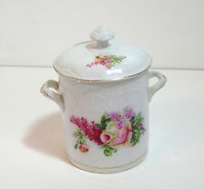 Condensed Milk Container with Floral Design