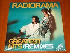 RADIORAMA GREATEST HITS AND REMIXES LP *RARE* REMASTERED PRESS VINYL ITALO New