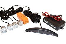 Sensor de Aparcamiento con Pantalla; Fácil Montaje; Plata 22mm Sensores;