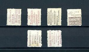New Zealand Victoria 3d  on Reverse Advertisements  (6)      (O551)