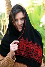 Mandil Hijab Veil Scarf Shawl Hand Embroidery By Bedouin Women