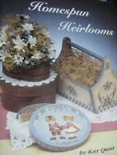 Homespun Heirlooms Painting Book Children & Toys, Flowers, Santa