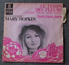 Mary Hopkin, le temps des fleurs / turn turn turn, SP - 45 tours France