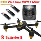 Hubsan H501S 5.8G FPV RC Quadcopter 1080P Follow Me Brushless GPS Drone+3Battery