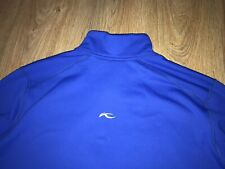 KJUS mens blue Softshell Jacket size 52/L