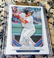 MOOKIE BETTS 2014 Bowman 1st TRUE Rookie Card RC Boston Red Sox Dodgers $ HOT $