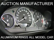 BMW 3er E36 4-teilig poliertes oder gebürstetes Aluminium Tachoringe Tacho Ringe