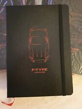 BRAND NEW GENUINE JAGUAR MERCHANDISE F-TYPE GLOVEBOX NOTEBOOK A5 SIZE IDEAL GIFT