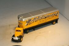 1941 Chevrolet Yellow Transit Tractor/Trailer HO Scale CMW Mini Metals Free Ship