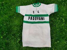 Maillot cycliste PADOVANI vintage 70s trikot shirt cycle collection