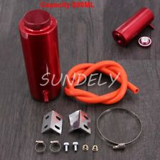 800ml Red Overflow Catch Tank Radiator Coolant Tank Bottle Header kit Aluminum