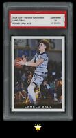 🌟2018 Lamelo Ball Leaf National Convention Rookie 1st Graded 10 Hornets RC Card