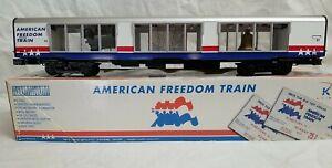 K-LINE K4601-30041 AMERICAN FREEDOM TRAIN ILLUMINATED SHOWCASE CAR #41