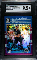 2016-2017 Donruss Optic #128 Karl-Anthony Towns Purple Prizm - SGC 9.5