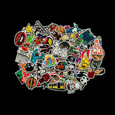 100Pcs/Lot Random Vinyl Decals Laptop Skateboard Stickers Luggage Sticker Decals