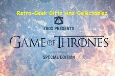 ZBox Game Of Thrones Limited Special Edition Size Large T-Shirt 500 Sold Out