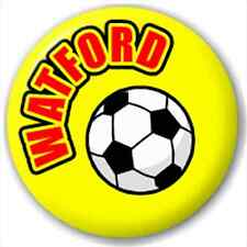 Watford Fc Football Supporter 25Mm Pin Button Badge Lapel Pin