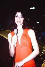 Vintage 1975 Chicago Auto Show Booth Babe #15 35mm slide