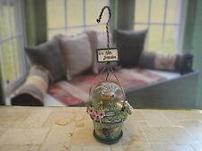 New listing New Pfaltzgraff Herb Pot Mini Globe Ornament