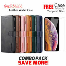 For Apple iPhone XR X XS 11 Pro Max 7 8 6 SE Plus Wallet Leather Case Flip Cover