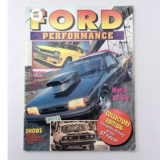Ford Performance Magazine No 3 Vintage Car XE XF Ute GT Falcon 1994