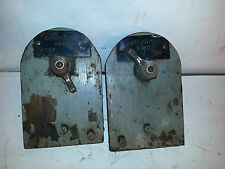 1968 Chris Craft boat Starboard and port battery switches 65 66 67 69 70 71