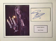 REEVE CARNEY AUTHENTIC SIGNED ROCKY HORROR 16X12 DISPLAY AFTAL UACC [14004]