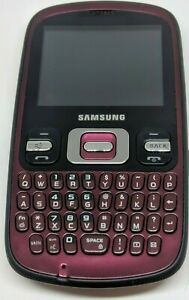 Samsung SCH-R351 Cell Phone Red us cellular tested 45