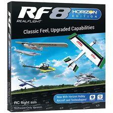 Realflight Real Flight 8 RF8 HH Horizon Hobby Edition Upgrade Disk Software Only