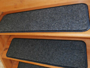 15 Step  9'' x 30'' + 2 Landing 30'' x  30''  In/Outdoor Stair Treads Non-Slip .