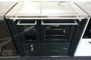 ✅ Lohberger LC 75 B Classic Küchenherd mit Stahlplatte anthrazit 7kW ✅