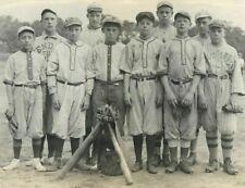 7 X 5 Vintage Baseball Team Little League Kids Boys Columbus Photo Early 1900's?