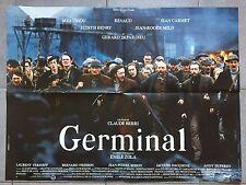 Affiche GERMINAL Claude Berri RENAUD Gérard Depardieu 60x80cm