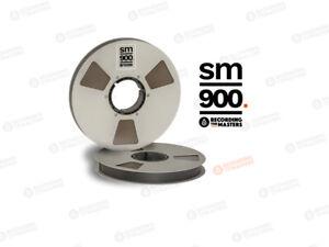 "RTM Recording The Master SM900 34820 Tonband 1"" 2500ft 762m NAB Metallspule"