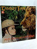 Authentic Vintage Tammy Faye Memoribilia Run Toward the Roar Record LP 1980 PTL