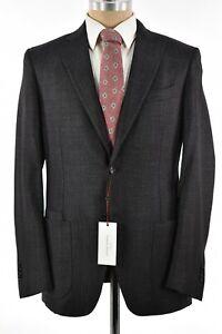 Luciano Barbera NWT Sport Coat Sz 52 42R US Gray With Pink Fleck Wool/Silk/Cash