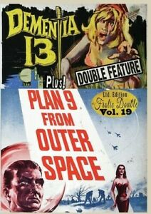 DEMENTIA 13 / PLAN FROM OUTER SPACE - (DVD) REGION FREE