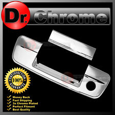 CHROME TAILGATE REAR DOOR HANDLE COVER FOR 10-17 DODGE RAM 2500 3500 PICKUP 2017