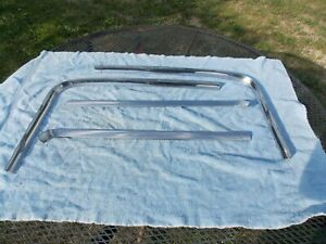 1966 1967 Buick Skylark Oldsmobile 442 rear window trim